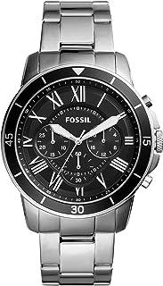 Fossil orologio quarzo uomo con cinturino in acciaio inox fs5236