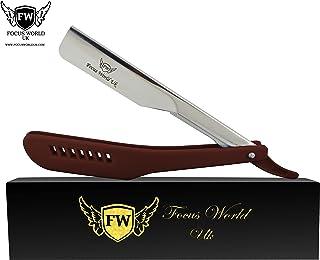 Maquinilla de afeitar profesional marrón para hombres para depilación de afeitadoras de peluquería maquinilla de afeitar ...