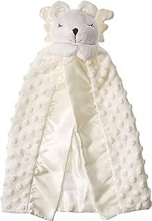 Elegant Baby Prayer Bear Security blanket, White