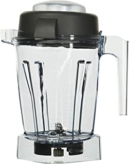 Vitamix 15255 Tritan Copolyester Containers with Wet Blade and Lid,Clear