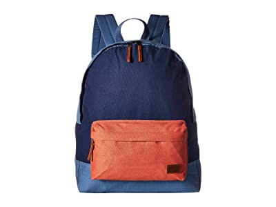 Roxy Sugar Baby Canvas Color Block Backpack (Blue Shadow) Backpack Bags