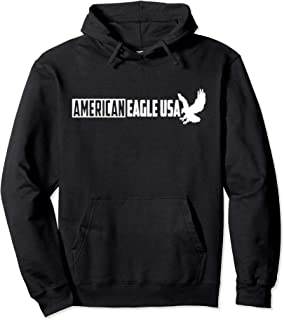 American Eagle USA Great Gift #5 B Pullover Hoodie