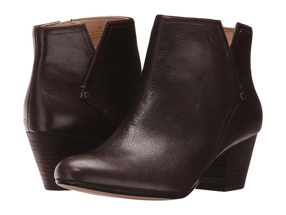 Nine West Hadriel (Dark Brown Leather) Women