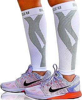 Compression Socks Men - Footless Compression Socks for Women. Treatment for legs, Shin Splint, Varicose Vein & Leg Pain Re...