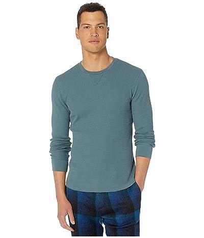 Vince Long Sleeve Crew T-Shirt (Seaside) Men