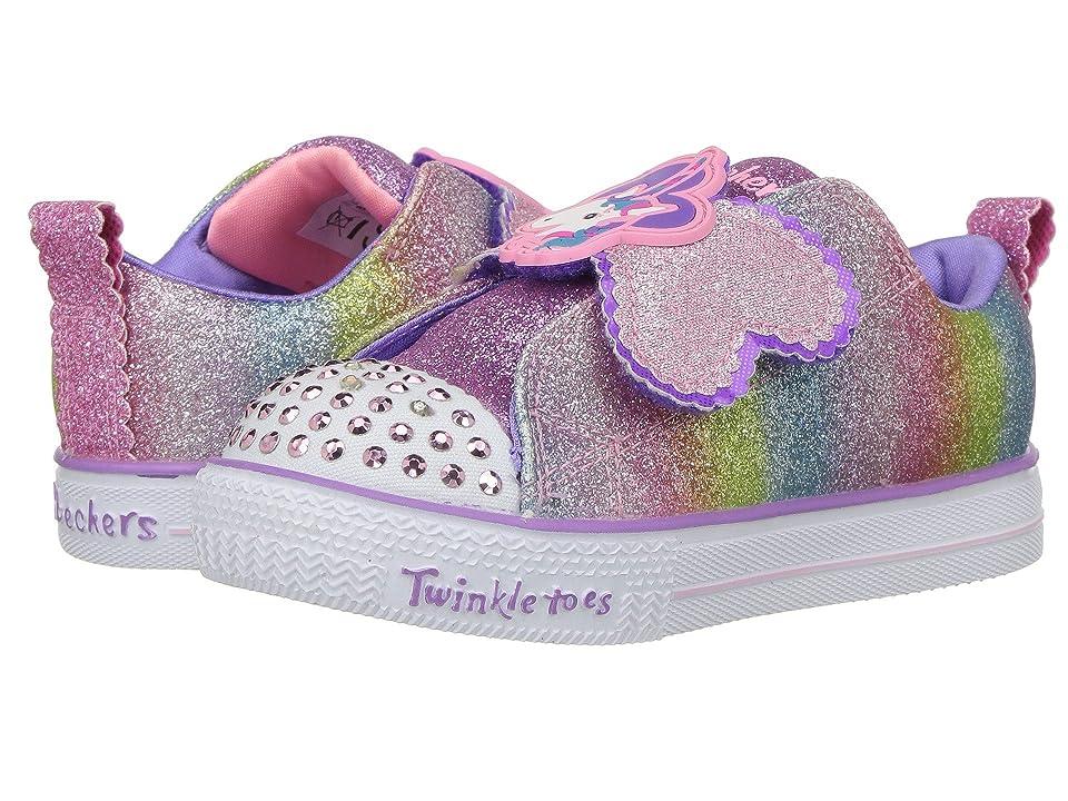 SKECHERS KIDS Twinkle Toes Twilights 10993N Lights (Toddler/Little Kid) (Multi) Girl