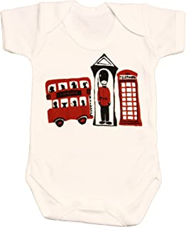 Zaza London Baby-Boys' London 3 Souvenir Suit Vest Newborn Gift