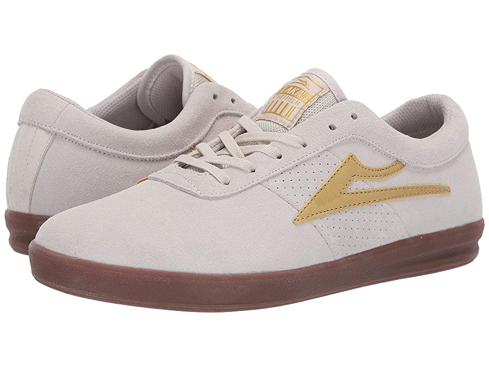 Lakai Sheffield XLK (White/Gold Suede) Men