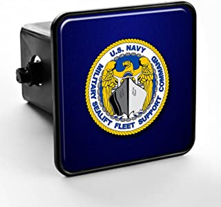 ExpressItBest Trailer Hitch Cover - US Military Sealift Fleet Support Command (MSFSC), ins