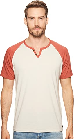 Color Block Henley Shirt