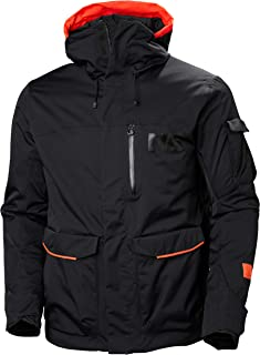 Helly Hansen Men's Fernie 2.0 Ski Jacket, Black, Large