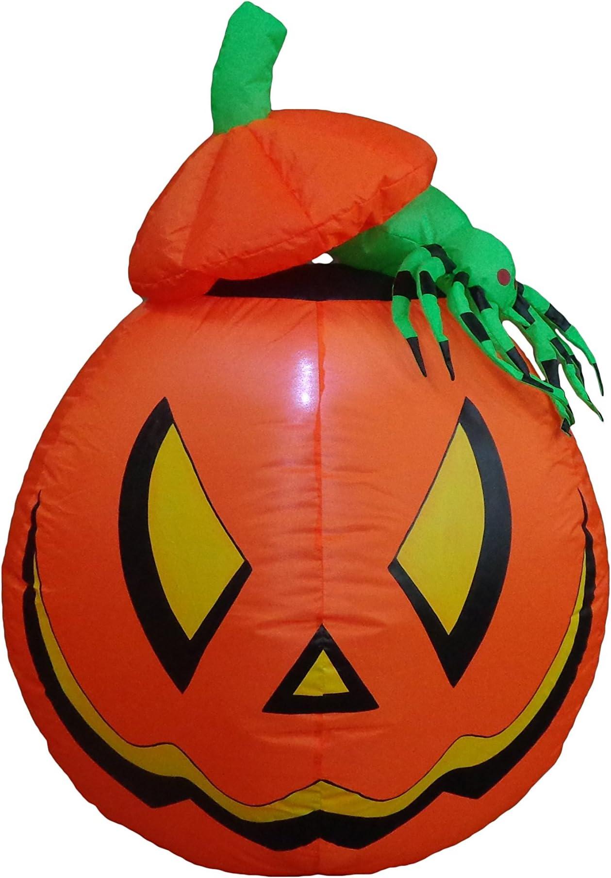 Jet Creations Halloween Inflatable Pumpkin Thanksgiving Indoor Outdoor Yard 36 i
