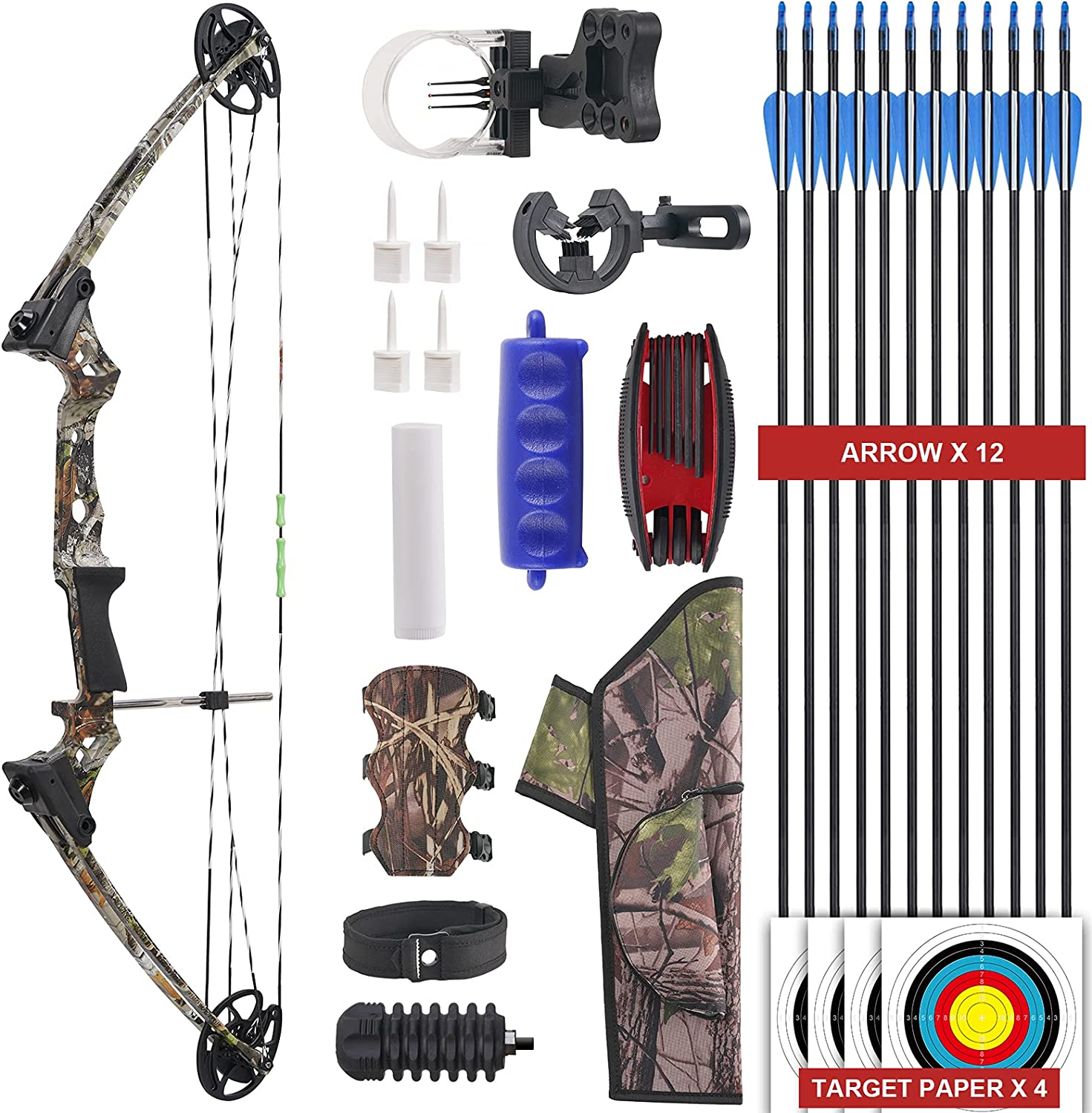 Aimdor Youth Compound Bow and Tucson Mall Fresno Mall Archery wit Set Arrow