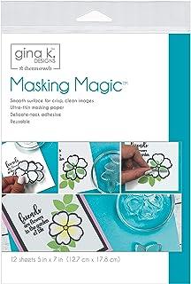 Gina K Designs 18123 GINA K MASKNG Sheets, us:one Size, Other