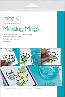 Gina K Designs Masking Magic Sheets 5