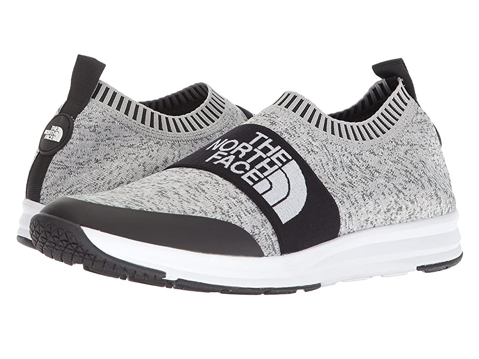 The North Face Traction Knit Moc (Heather Grey/TNF White) Men