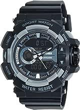 Skmei Analog-Digital Multi-Colour Dial Unisex Watch - 1117BBGREY