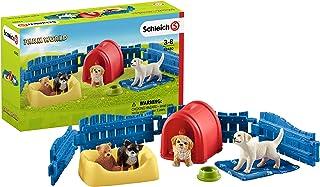 Schleich Puppy Pen Set, Multi-Colour