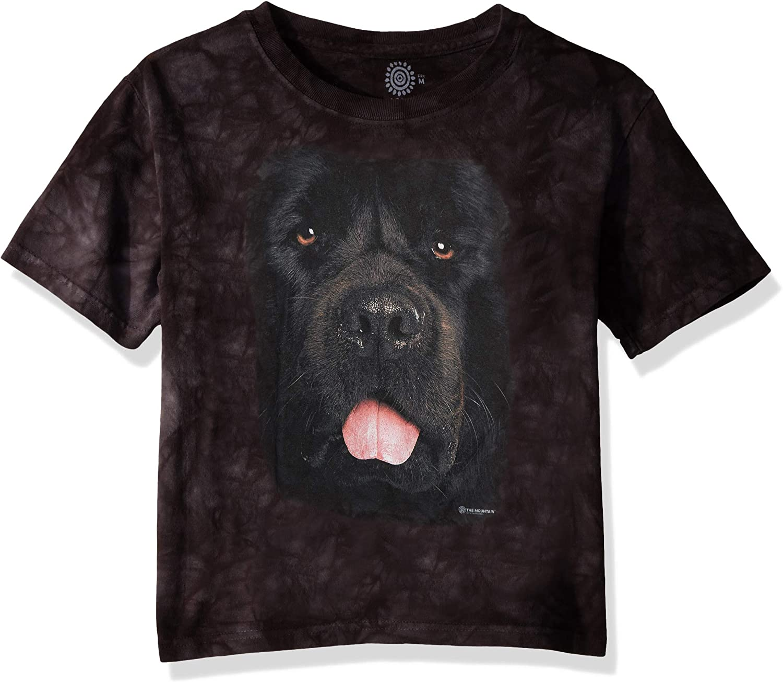 4XL 5XL Black NEWFIE NEWFOUNDLAND Dog Puppy T Shirt The Mountain Animal Tee S