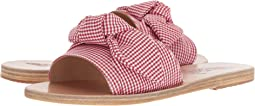 Gingham Red Print Cotton