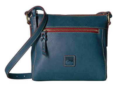 Dooney & Bourke Florentine Classic Allison Crossbody (Denim/Self Trim) Cross Body Handbags