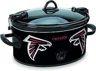 Crock-pot SCCPNFL600-AF Electric Cooking, Black/White/Silver/Red, 6 quart