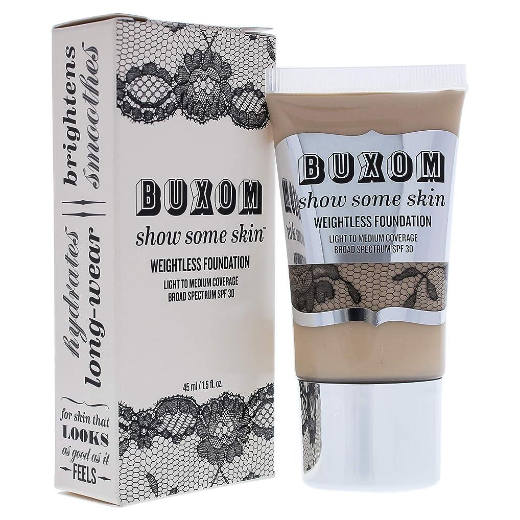 艶内陸変換するBuxom Show Some Skin Weightless Foundation SPF 30 - # Tickle The Ivory 45ml/1.5oz並行輸入品