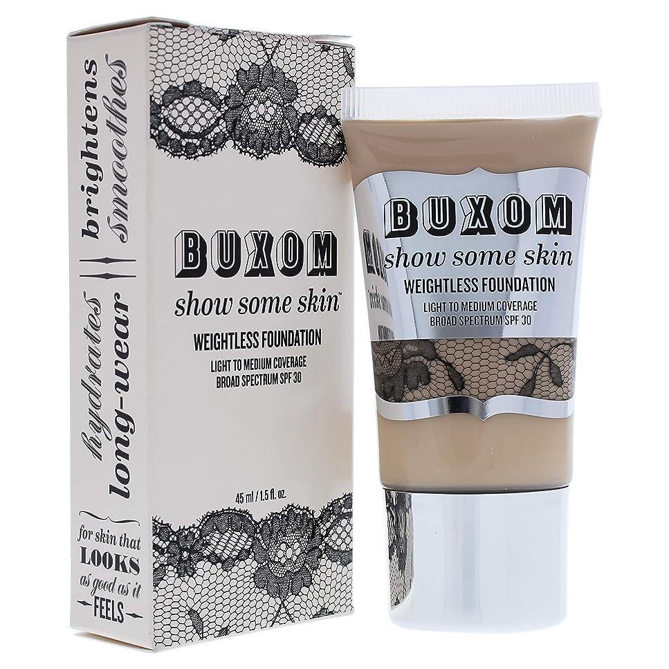 農業重さむちゃくちゃBuxom Show Some Skin Weightless Foundation SPF 30 - # Tickle The Ivory 45ml/1.5oz並行輸入品