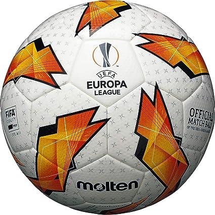 Molten The UEFA - Balón Oficial de la Liga de Europa, Color Naranja, Talla 5: Amazon.es: Deportes y aire libre