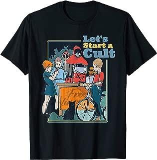 Let's Start A Cult Funny Vintage Child Game Demons Gift T-Shirt