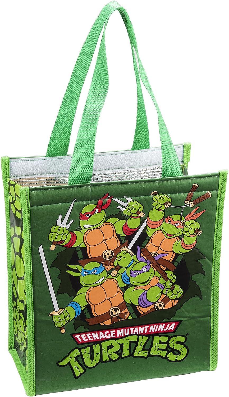 Tote Bag  Teenage Mutant Ninja Turtles  Insulated Hand Purse New Licensed 38173