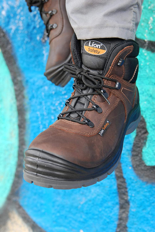 Lion Safety 5431 Zapato seguridad S3 piel nobuck puntera composite y suela textil
