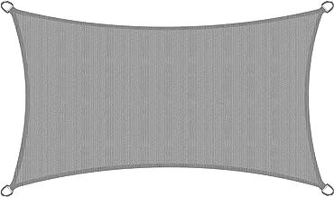 Sol Royal Żagiel przeciwsłoneczny ogrodowy SolVision HS9 Prostokątna markiza ochrona przed UV Zacieniacz 4 x 2 m HDPE Szary