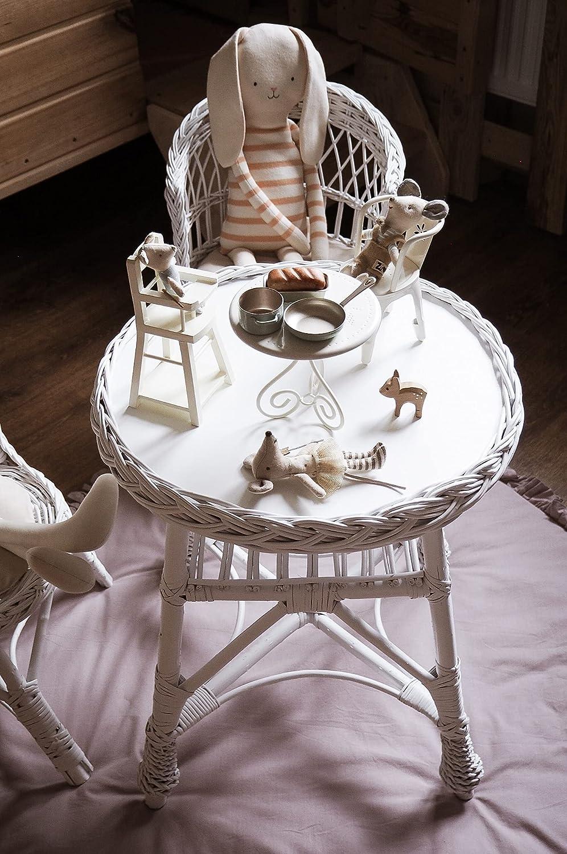 CACKOO Handmade Popularity Boho Wicker Table Toddlers Kids New life Multipurpose for