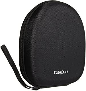 ELEGIANT Bolsa de Auriculares Funda Protectora de Almacenamiento Duro Estuche Portátil para Accesorios Electrónicos para Sony Sennheiser Bose Monster etc. Negro