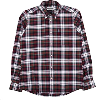 Barbour Highland Check Shirt Red-M
