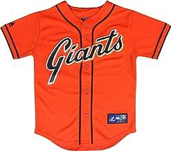 San Francisco Giants Blank Orange Youth Authentic Alternate Replica Jersey