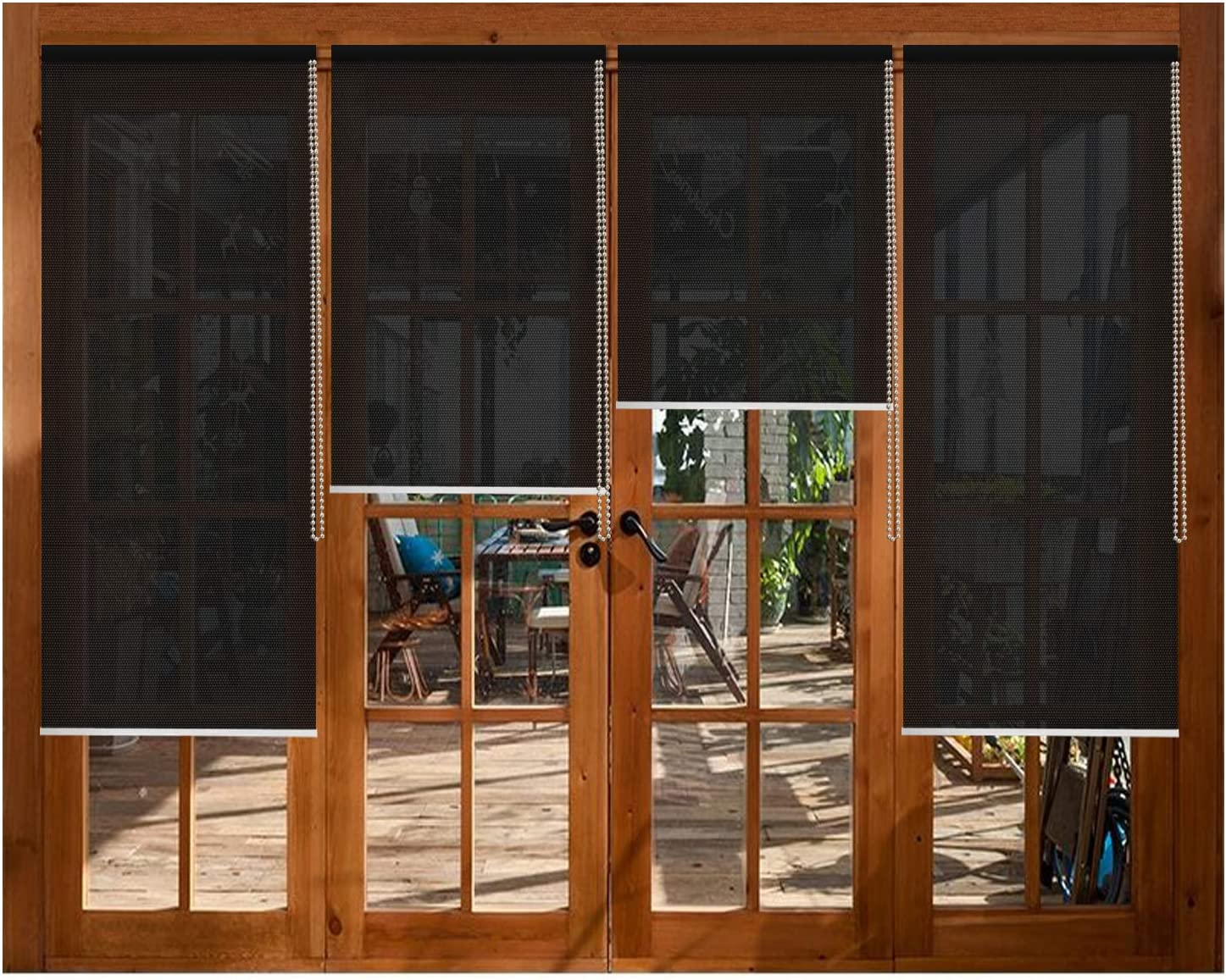 Solar SEAL limited product Window Shades Blinds Black Thermal Insula shopping Filtering Light