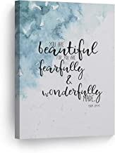 Best you are fearfully and wonderfully made wall art Reviews