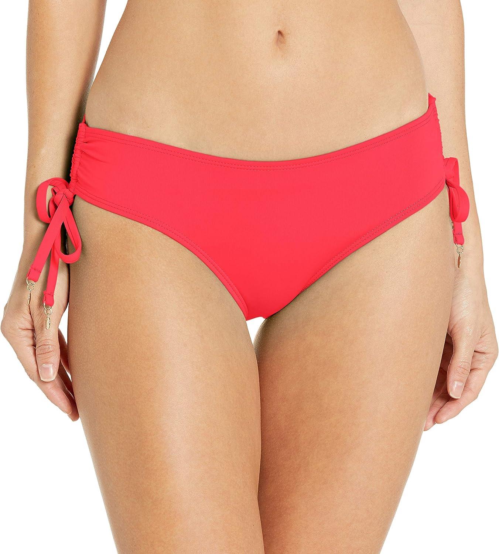 Anne Cole Women's Standard Alex Solid Side Tie Adjustable Bikini Swim Bottom