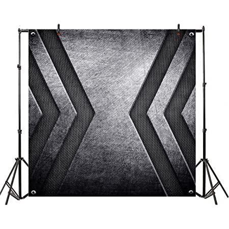 5x5FT Vinyl Backdrop Photographer,Grunge,Grunge Letters Pattern Photo Backdrop Baby Newborn Photo Studio Props