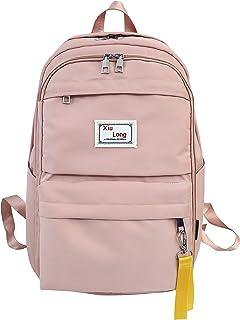 حقيبة ظهر للرجال والنساء ، حقيبة ظهر كاجوال للمراهقين حقائب الظهر المدرسية
