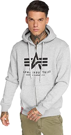 Alpha Industries Men Overwear Zip Hoodie Basic