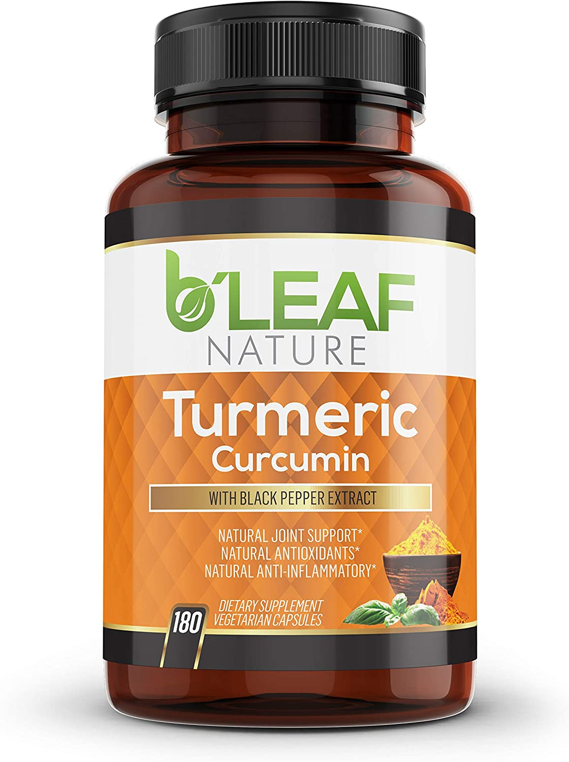 Turmeric Curcumin with Black Pepper - Extract 1300mg Genuine Serving Sale Special Price 9