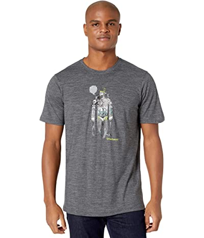 Smartwool Merino Sport 150 Game Of Ghosts Tee (Medium Gray Heather) Men