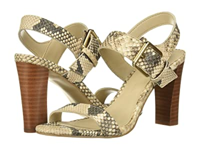Cupcakes and Cashmere Gisela Sandal (Natural Snake) Women