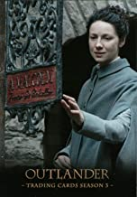 2019 Cryptozoic Outlander Season 3 A. MALCOLM Folding Card F1 Claire Randall & Jamie Fraser