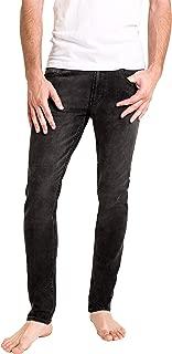 Duc Denim - Jeans Para Hombre - Louis the Liberal - Washed Black - Slim Fit- Jeans Azules - Alta Calidad de Mezclilla - Corte Ajustado - Fit Perfecto - Estilo Moderno - Denim - Para Caballero - Skinny - Se Estiran - Mezclilla Elastica