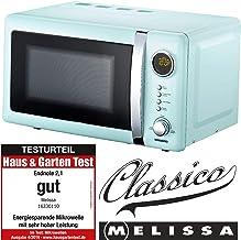 MELISSA 5707160011796 Microondas, Acero Inoxidable