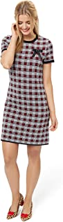 Review Women's Clemmie Check Dress Black/Multi
